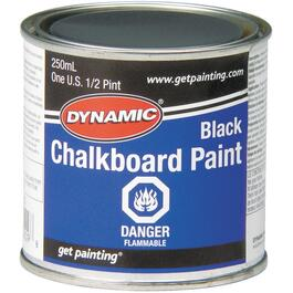 250mL Black Chalkboard Alkyd Paint thumb