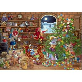1000 Piece Christmas Puzzle, Assorted Puzzles thumb