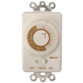 Mechanical Programmable Indoor In-Wall Timer thumb