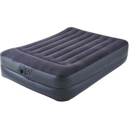 Queen Size Raised Air Bed, with Pillow and Pump thumb