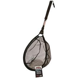 "13"" x 19"" Trout Basket Fishing Net, with Telescopic Handle thumb"