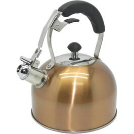 2.5L Stainless Steel/Copper Whistling Tea Kettle thumb