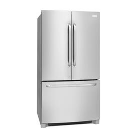 27.6 cu. ft. Stainless Steel French Door Refrigerator, with Bottom Mount Freezer thumb