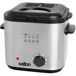 840 Watt 1.2L Square Stainless Steel Deep Fryer thumb