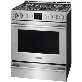 "30"" Smudge Proof Stainless Steel Gas Range thumb"