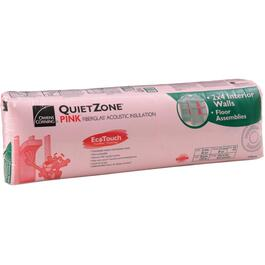 "3.5"" x 15"" Quietzone Pink Insulation, covers 110 sq. ft. thumb"