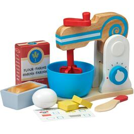 11 Piece Make a Cake Mixer Wooden Food Set thumb