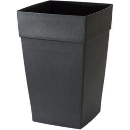 "12"" Self-Watering Black Harmony Planter thumb"