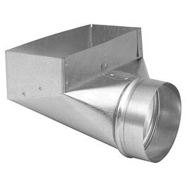 "4"" x 10"" x 4"" Angle Boot Duct thumb"