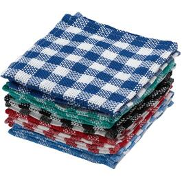 "10 Pack 14"" x 14"" Dish Cloths, Assorted Colours thumb"