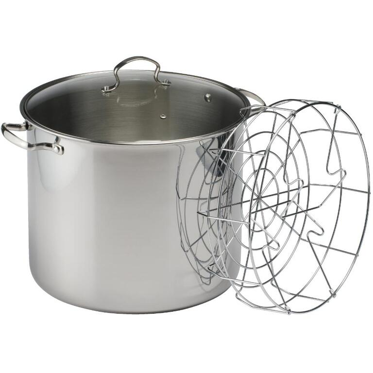 Instyle 30 Quart 7 Jar Stainless Steel Canner Home Hardware Canada