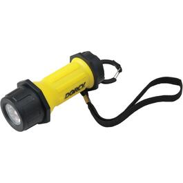 LED Industrial Flashlight, with 3 AAA Batteries thumb