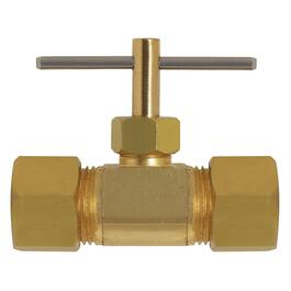 "3/8"" Compression to Compression Needle Valve thumb"