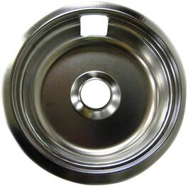 "8"" Chrome Ring and Drip Pan thumb"