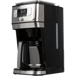 10 Cup Black/Stainless Steel Automatic Burr Grind and Brew Coffee Maker thumb