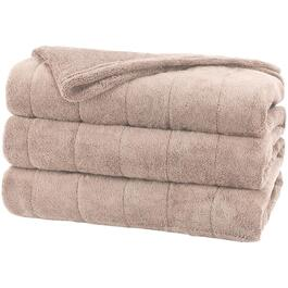Oatmeal Queen Heated Electric Blanket thumb