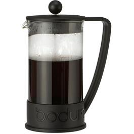 1L Black Brazil Coffee Press thumb