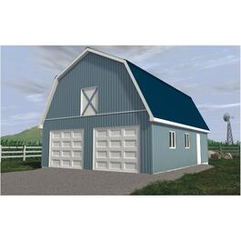 24' x 32' x 8' Hobby Barn Farm Building Package thumb
