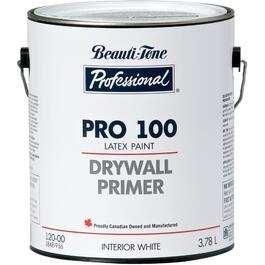 3.64L White PRO 100 Interior Latex Primer Sealer thumb