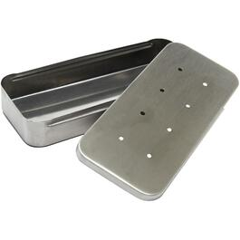 "9"" x 4"" Stainless Steel Barbecue Smoker Box thumb"