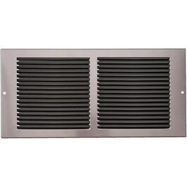 "6"" x 14"" Pewter Sidewall Grille thumb"