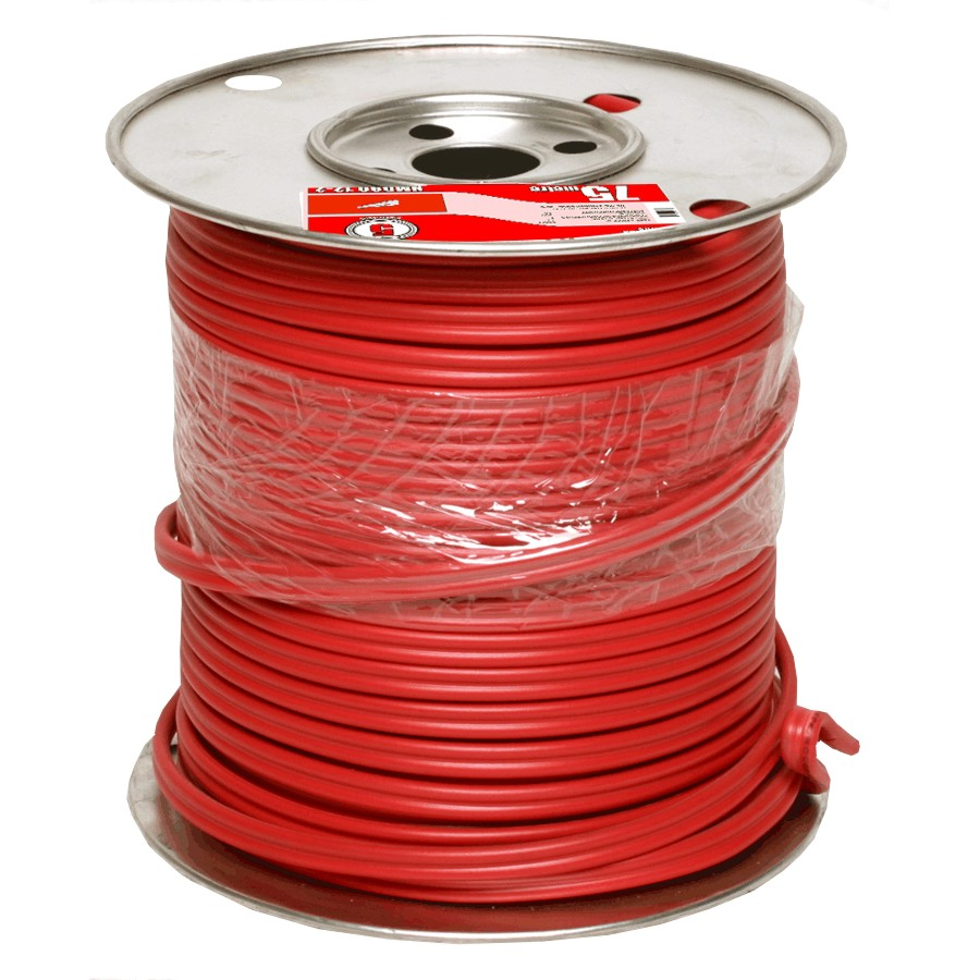 Canada Wire 75m Blue 14 2 Nmd 90 Copper Home Hardware Electrical Wiring Basement Red 12