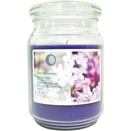 18oz Lilac Blossoms Jar Candle thumb