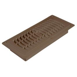 "4"" x 10"" Tan Pop-Up Poly Air Diffuser thumb"