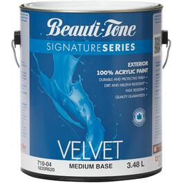 3.48L Velvet Finish Medium Base Exterior Latex Paint thumb