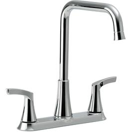 Fluent Two Handle Centerset Bathroom Faucet with Drainbah8.bathnew.beer BathroomFaucets 1459 watch for fluent two handle centerset