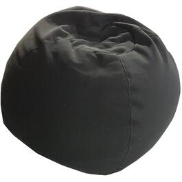 Black Polyurethane Beanbag Chair thumb