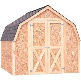 8' x 8' Basic Stick Built Barn Style Shed Package thumb