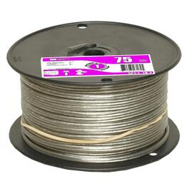 1' Silver 18/2 SPT1 Lamp Wire thumb