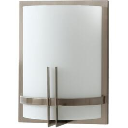 "12"" Brushed Nickel Wall Sconce thumb"
