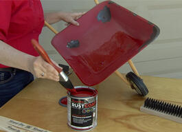 Here's How Beauti-Tone Rust Coat paint makes old look new again. thumb