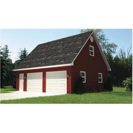 28' x 24' Basic Garage Package, with Loft thumb