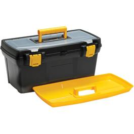 "19.1"" x 10.3"" x 8.9"" Tool Box, with Plastic Tray thumb"