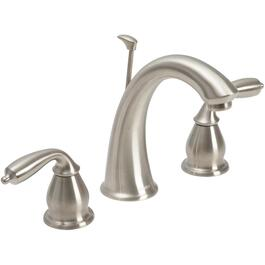 "Bayhill 8"" to 16"" Nickel 2 Lever Handle Lavatory Faucet thumb"