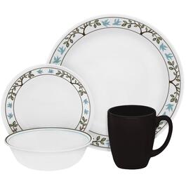 16 Piece Tree Bird Dinnerware Set thumb