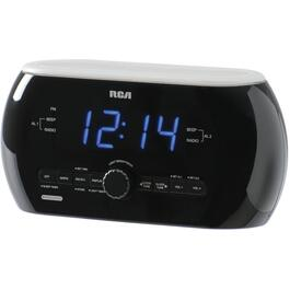 2 Alarm Soft Light Clock Radio, with Motion Detector thumb