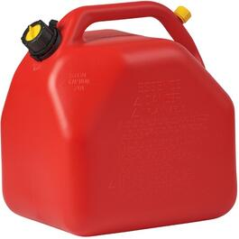 20L Plastic Red Jerry Gas Can thumb