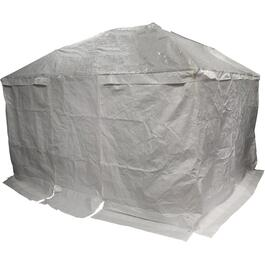 10' x 12' White Polyethylene Winter Gazebo Cover, for Trinidad Gazebo thumb