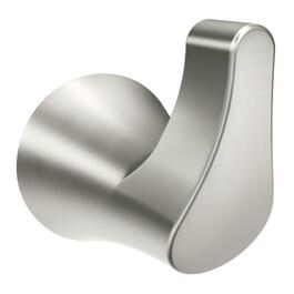 Danika Brushed Nickel Robe Hook thumb