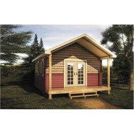 16' x 20' Option Powder Room Bunkie, with Finishes thumb