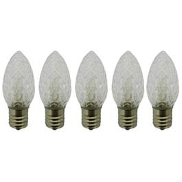 5 Pack Retrofit White C9 LED Bulbs thumb