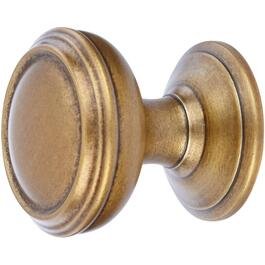 "1-1/4"" Revitalize Gilded Bronze Cabinet Knob thumb"