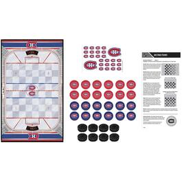 NHL Montreal Canadiens Checkers Game thumb