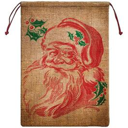 "23"" x 16"" Burlap Christmas Gift Bag, Assorted Styles thumb"