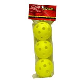 "3 Pack 12"" Plastic Optic Training Balls thumb"
