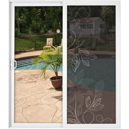 "36"" x 84"" Decorative Lily Screen thumb"